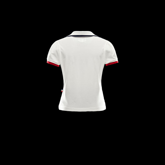 2016 Outlet Store - MONCLER WOMEN GRENOBLE Polo shirt IVORY