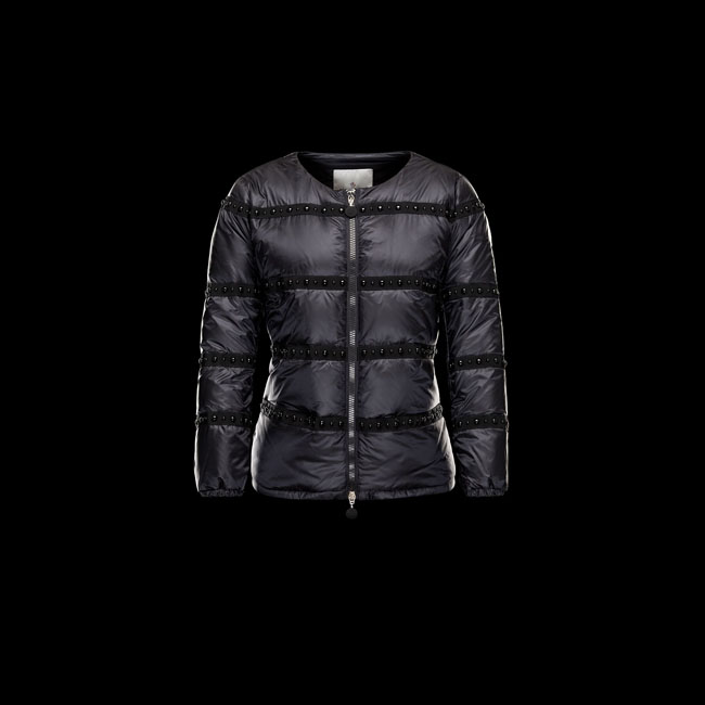 2016 Outlet Store - MONCLER WOMEN HINAKO BLACK