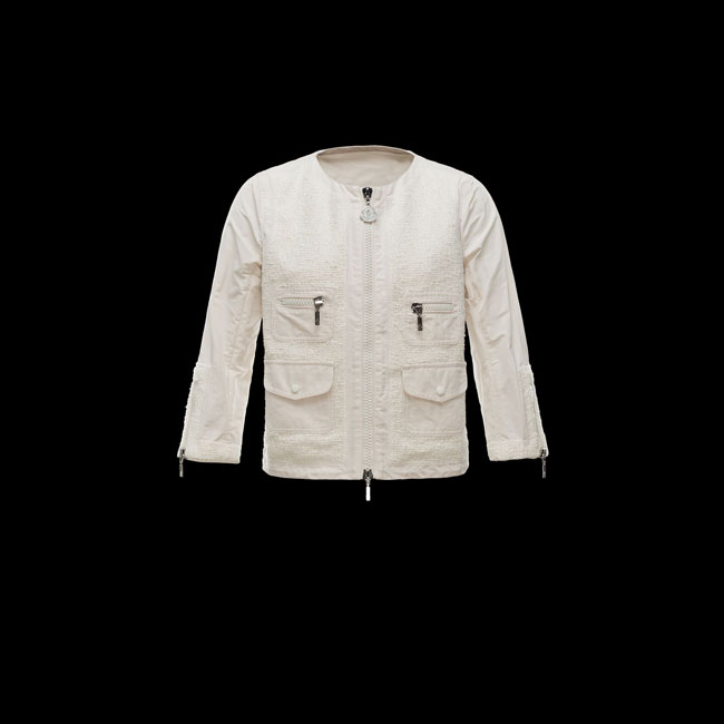 2016 Outlet Store - MONCLER WOMEN CLELIA IVORY