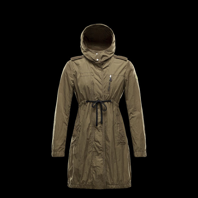 2016 Outlet Store - MONCLER WOMEN JOSEPHINE MILITARY GREEN