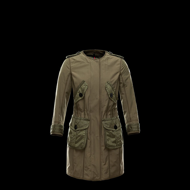 2016 Outlet Store - MONCLER WOMEN ESDRA MILITARY GREEN