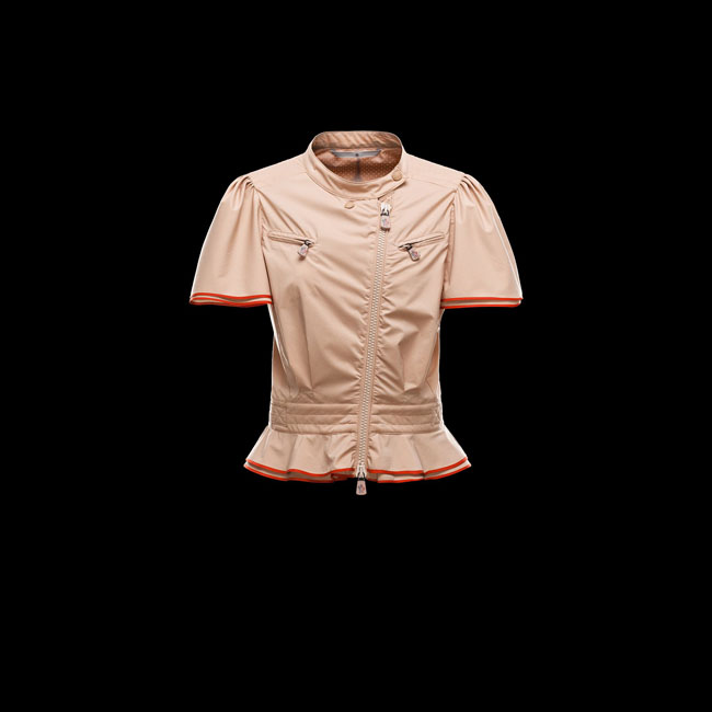 2016 Outlet Store - MONCLER WOMEN GRENOBLE ST-MALO BEIGE