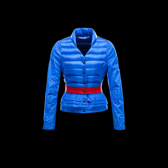 2016 Outlet Store - MONCLER WOMEN GRENOBLE CAEN BLUE