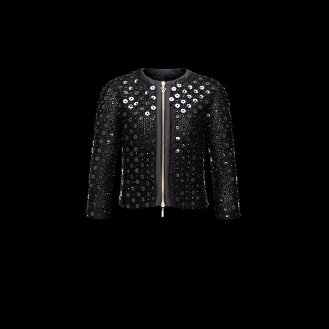 2016 Outlet Store - MONCLER WOMEN GAMME ROUGE Jacket BLACK