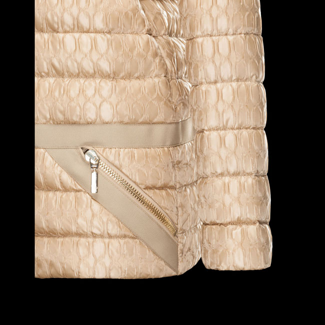 2016 Outlet Store - MONCLER WOMEN GAMME ROUGE Jacket BEIGE