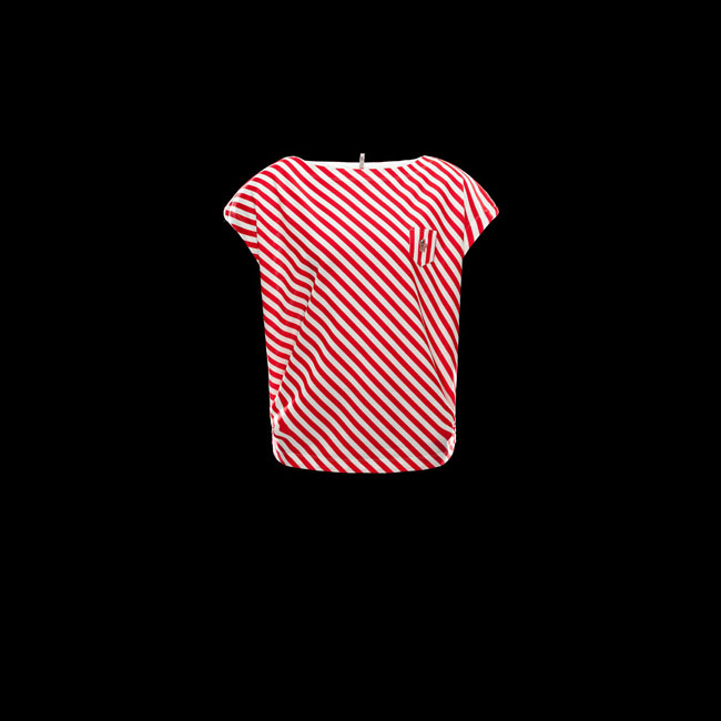 2016 Outlet Store - MONCLER WOMEN GRENOBLE T-shirt RED
