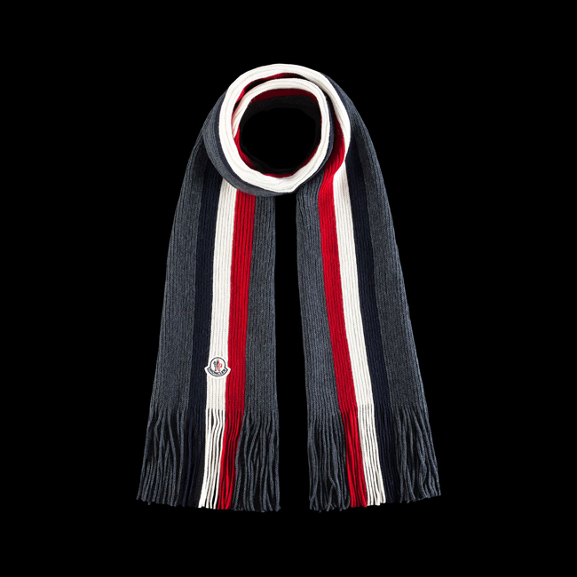 2016 Outlet Store - MONCLER MEN Scarf STEEL GREY