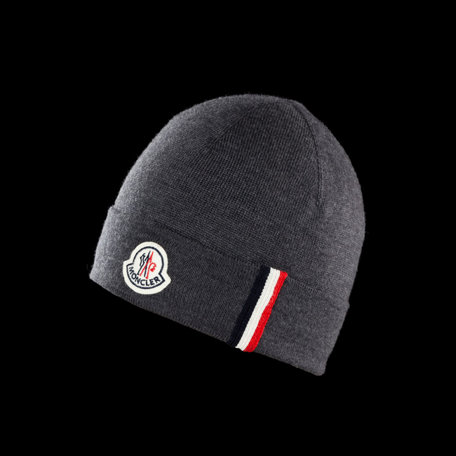2016 Outlet Store - MONCLER MEN Hat STEEL GREY