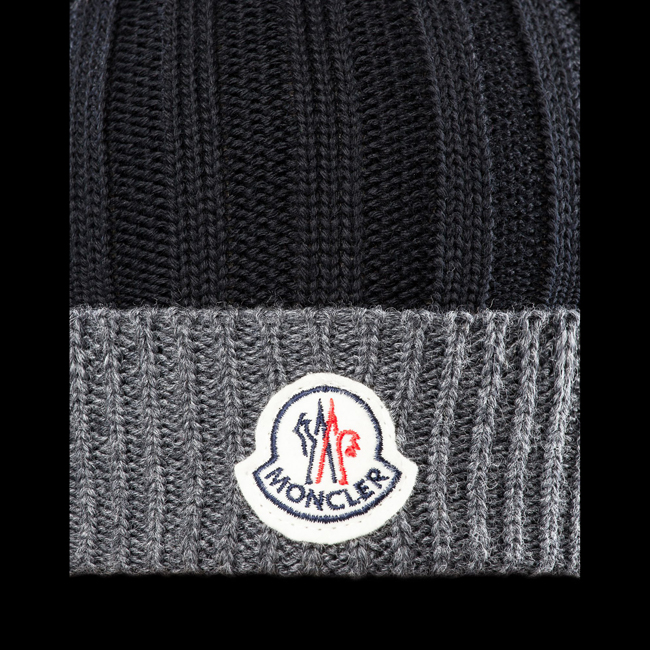 2016 Outlet Store - MONCLER MEN Hat BLACK