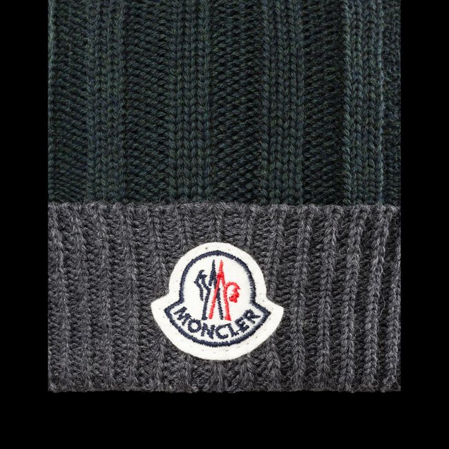 2016 Outlet Store - MONCLER MEN Hat DARK GREEN