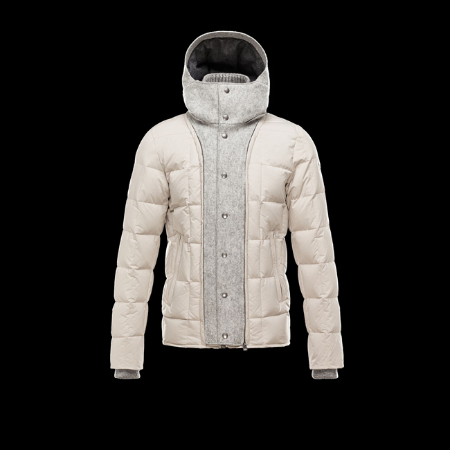2016 Outlet Store - MONCLER MEN SALERNES LIGHT GREY