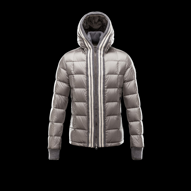 2016 Outlet Store - MONCLER MEN LEON GREY