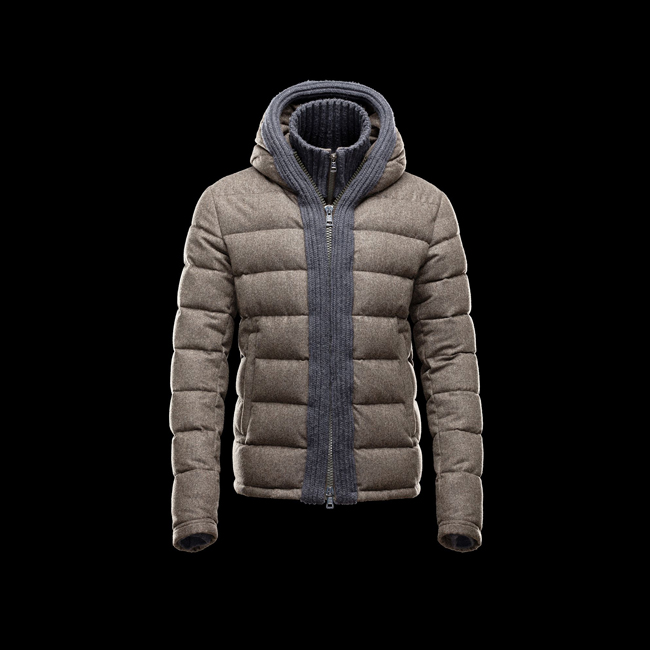 2016 Outlet Store - MONCLER MEN CANUT MILITARY GREEN