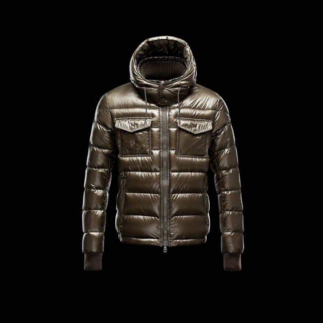 2016 Outlet Store - MONCLER MEN FEDOR MILITARY GREEN