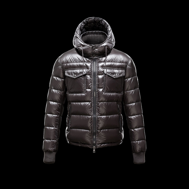 2016 Outlet Store - MONCLER MEN FEDOR STEEL GREY