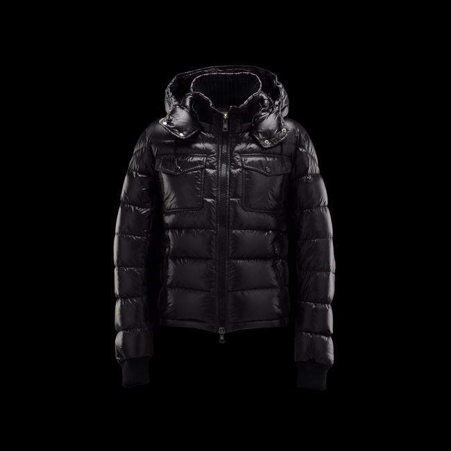 2016 Outlet Store - MONCLER MEN FEDOR BLACK