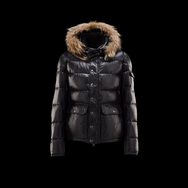 2016 Outlet Store - MONCLER MEN Hubert BLACK
