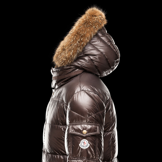 2016 Outlet Store - MONCLER MEN Hubert DARK BROWN