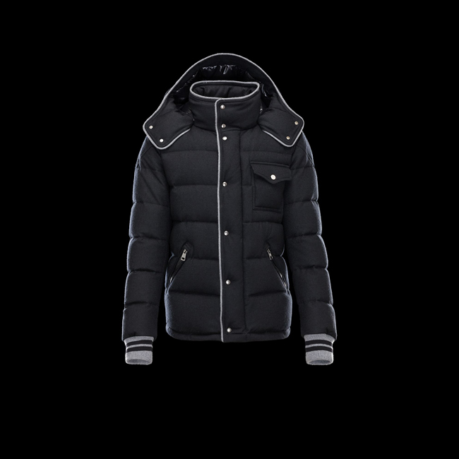 2016 Outlet Store - MONCLER MEN BRESLE BLACK