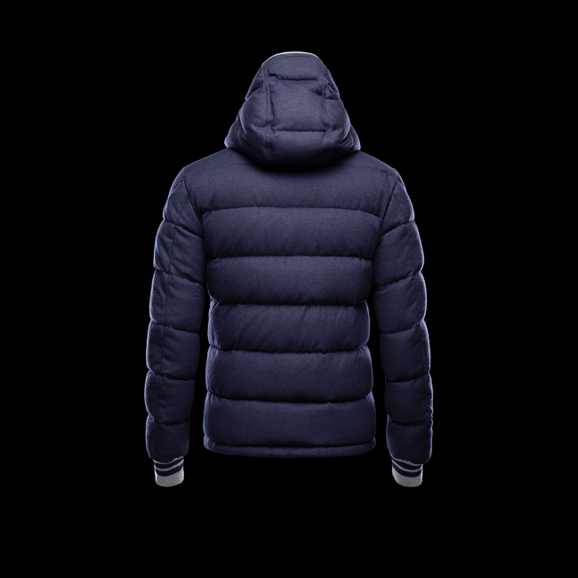 2016 Outlet Store - MONCLER MEN BRESLE BLUE