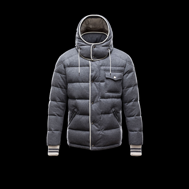 2016 Outlet Store - MONCLER MEN BRESLE GREY
