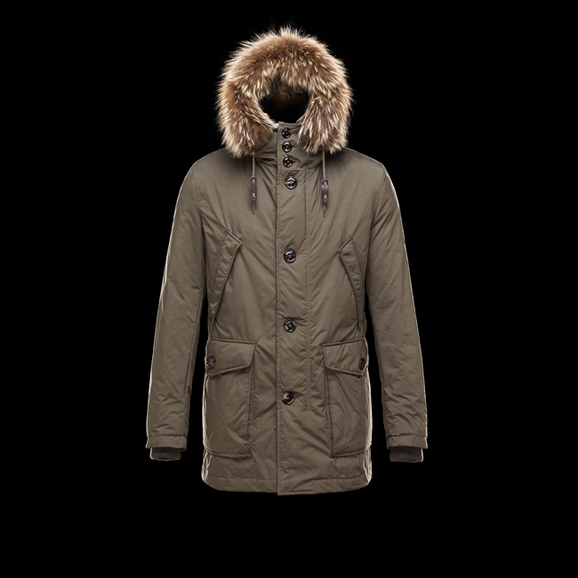 2016 Outlet Store - MONCLER MEN CHATEAUBRIANT DARK GREEN