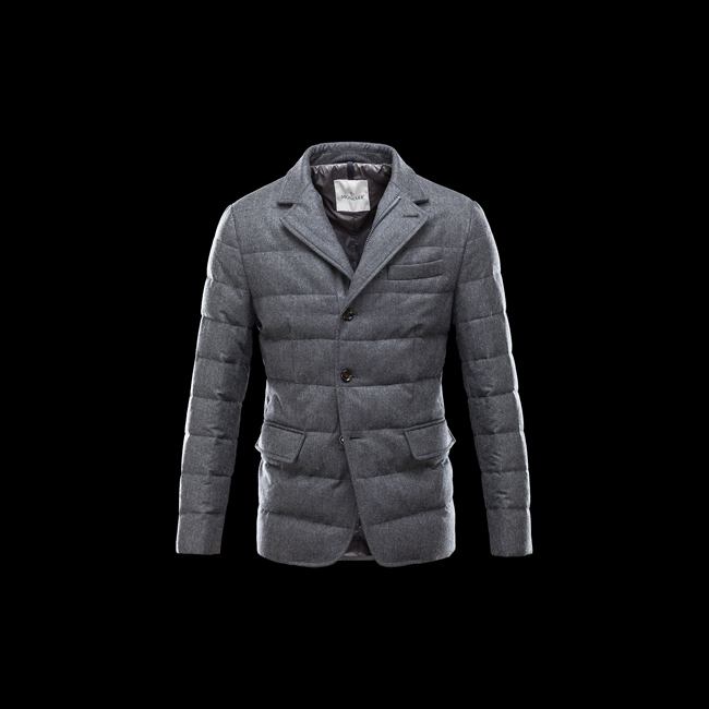 2016 Outlet Store - MONCLER MEN Rodin STEEL GREY