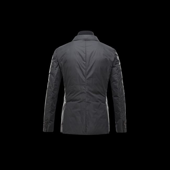 2016 Outlet Store - MONCLER MEN ARGENTRE BLACK