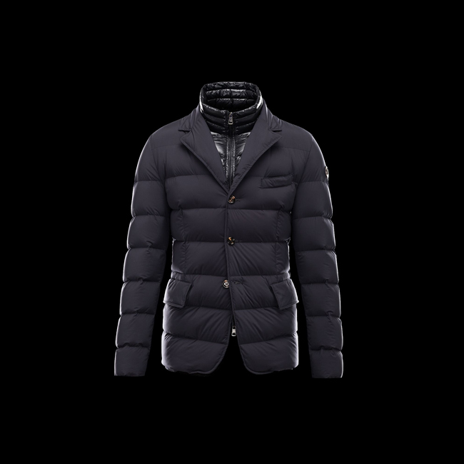 2016 Outlet Store - MONCLER MEN ROUILLAC BLUE