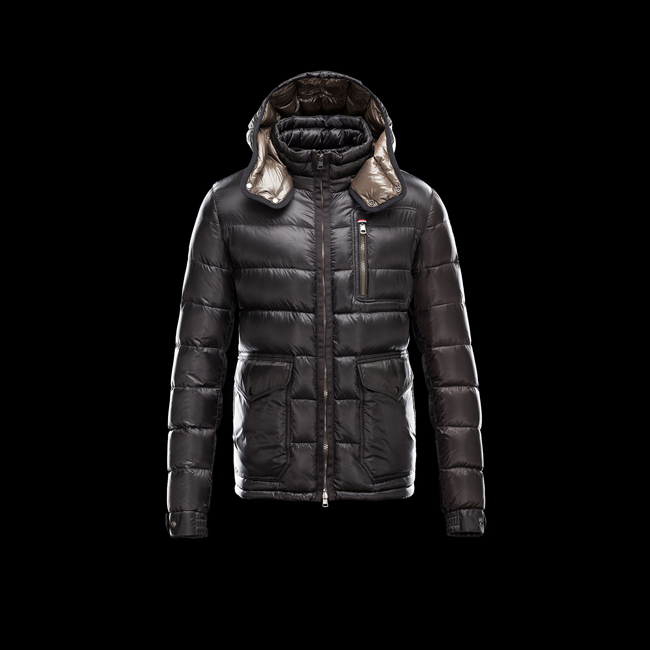2016 Outlet Store - MONCLER MEN NESTOR BLACK