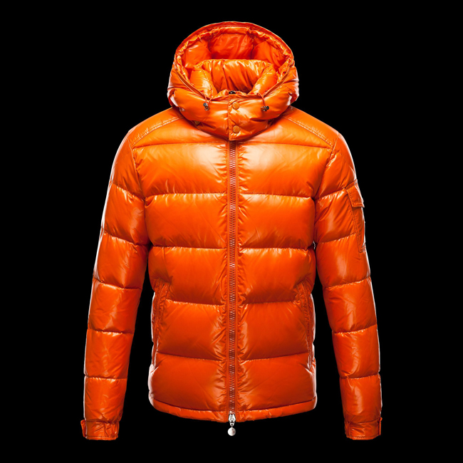 2016 Outlet Store - MONCLER MEN Maya ORANGE