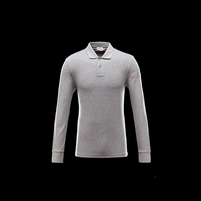 2016 Outlet Store - MONCLER MEN Polo shirt GREY