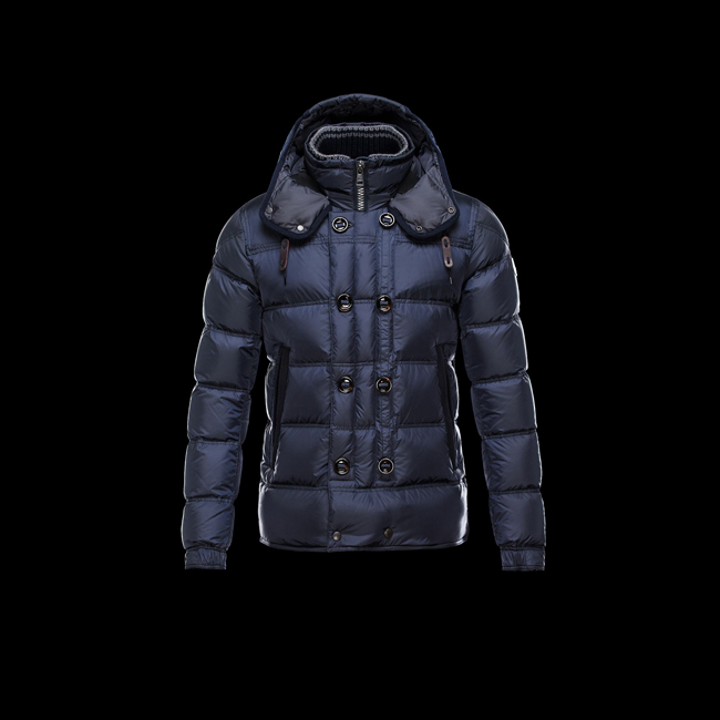 2016 Outlet Store - MONCLER MEN ALFRED BLUE
