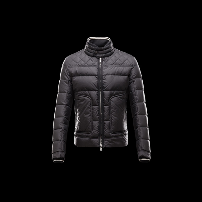 2016 Outlet Store - MONCLER MEN RIVOAL BLACK