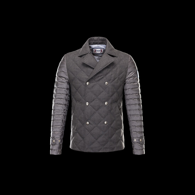 2016 Outlet Store - MONCLER MEN GAMME BLEU Jacket GREY