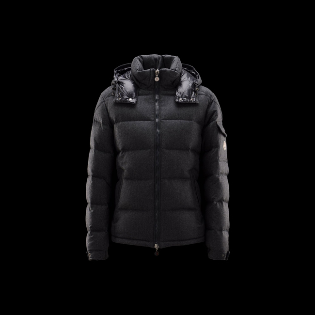 2016 Outlet Store - MONCLER MEN Montgenevre STEEL GREY