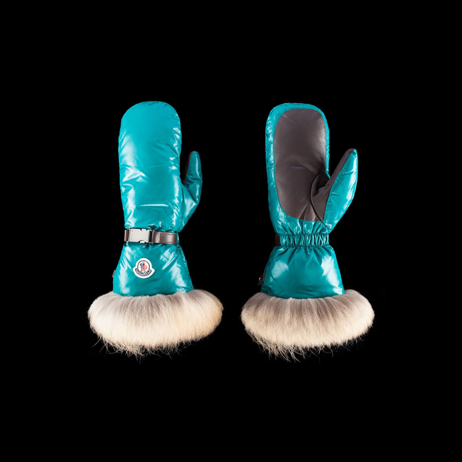 2016 Outlet Store - MONCLER WOMEN Gloves GREEN