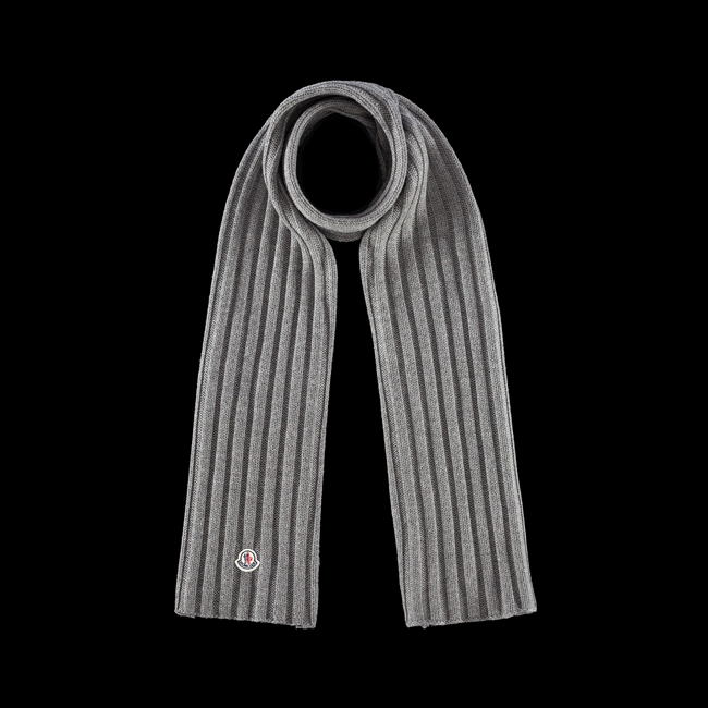2016 Outlet Store - MONCLER WOMEN Scarf STEEL GREY