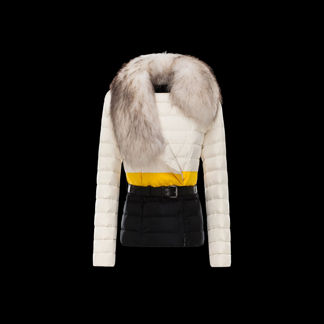 2016 Outlet Store - MONCLER WOMEN POLYGALE IVORY