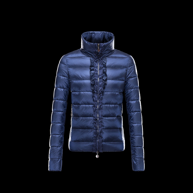 2016 Outlet Store - MONCLER WOMEN OXALIS BLUE