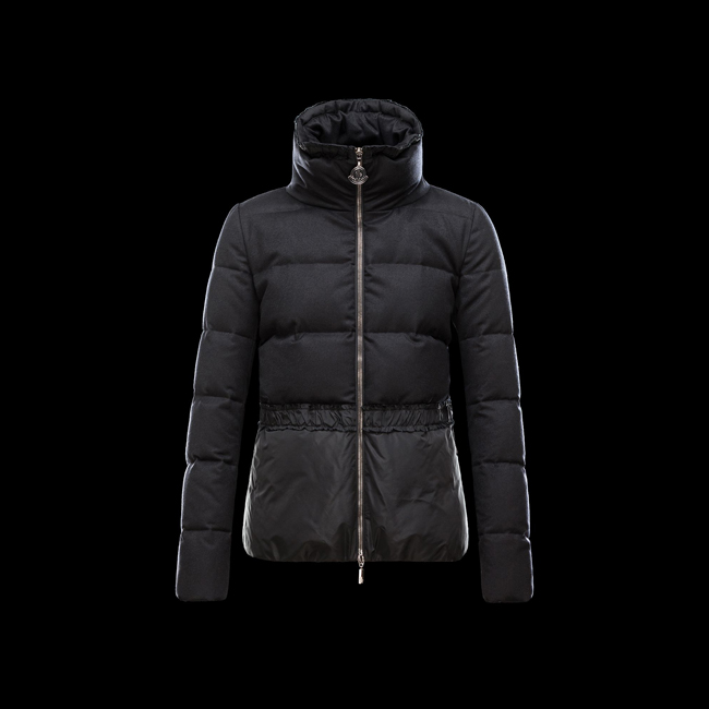 2016 Outlet Store - MONCLER WOMEN ARGENTEE BLACK