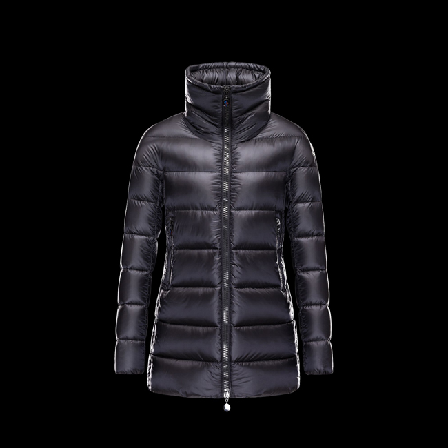 2016 Outlet Store - MONCLER WOMEN ELEVEE BLACK