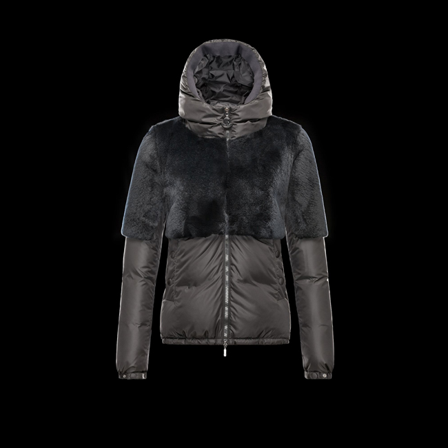 2016 Outlet Store - MONCLER WOMEN LIEUX BLACK
