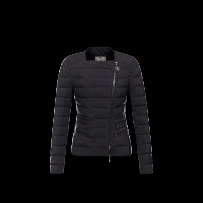 2016 Outlet Store - MONCLER WOMEN BLANC BLACK