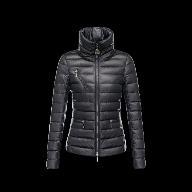2016 Outlet Store - MONCLER WOMEN SUISSE BLACK