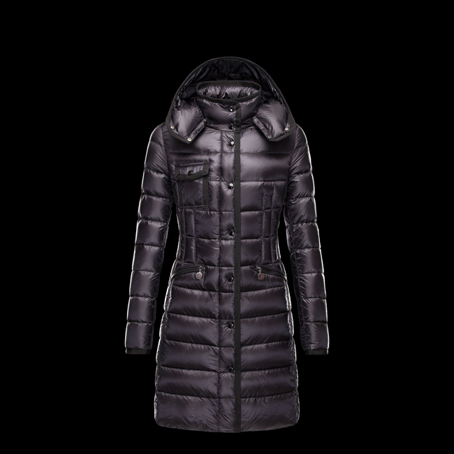 2016 Outlet Store - MONCLER WOMEN HERMINE BLACK