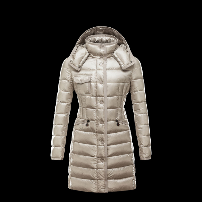 2016 Outlet Store - MONCLER WOMEN HERMINE BEIGE