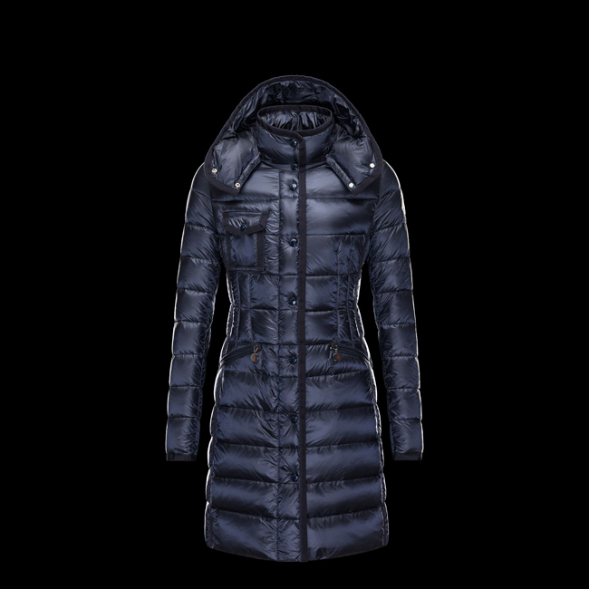 2016 Outlet Store - MONCLER WOMEN HERMINE BLUE
