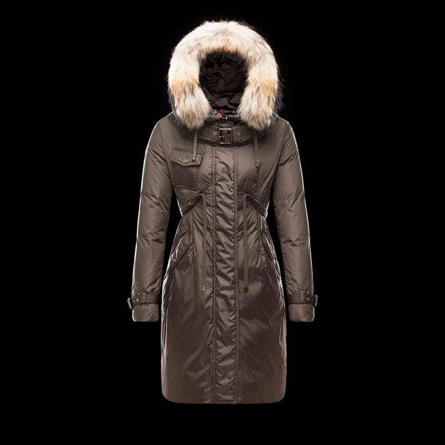 2016 Outlet Store - MONCLER WOMEN PHALANGERE DARK GREEN