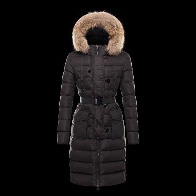 2016 Outlet Store - MONCLER WOMEN GENEVRIER BLACK